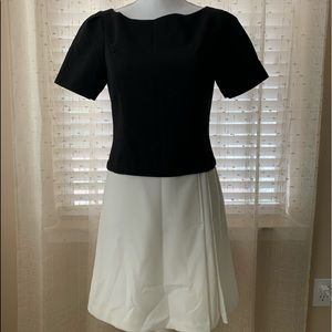 White Black House Market Dress